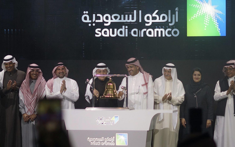 Saudi oil firm breaks market records