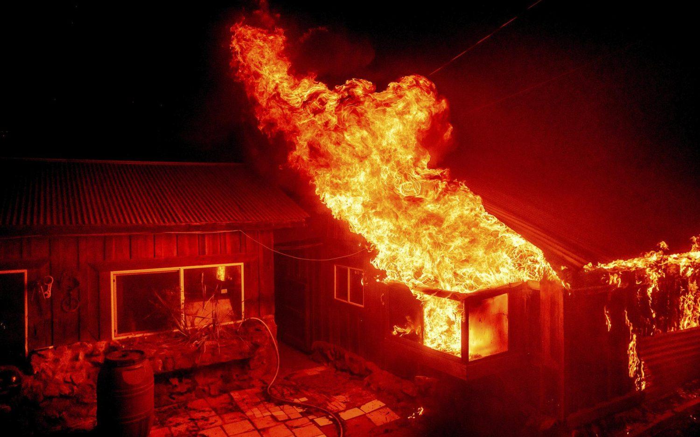 A deadly blaze in Berry Creek