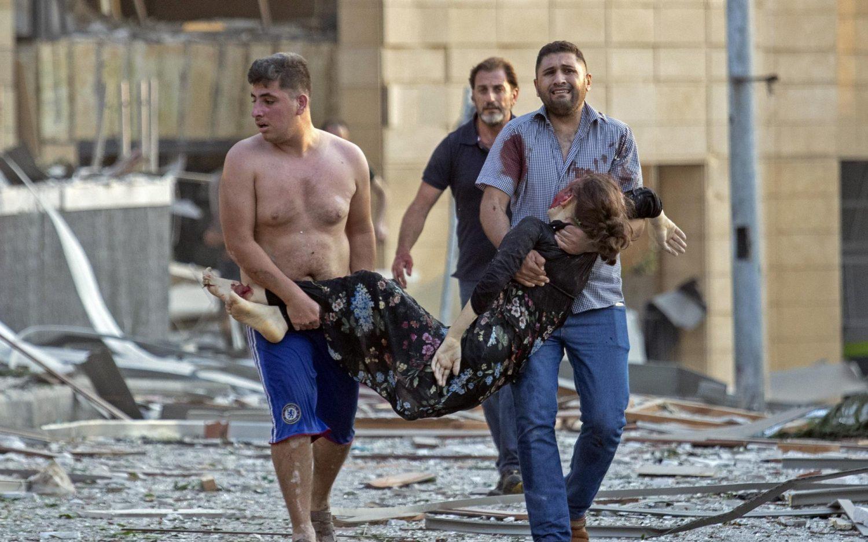 Explosion cripples crumbling Lebanon