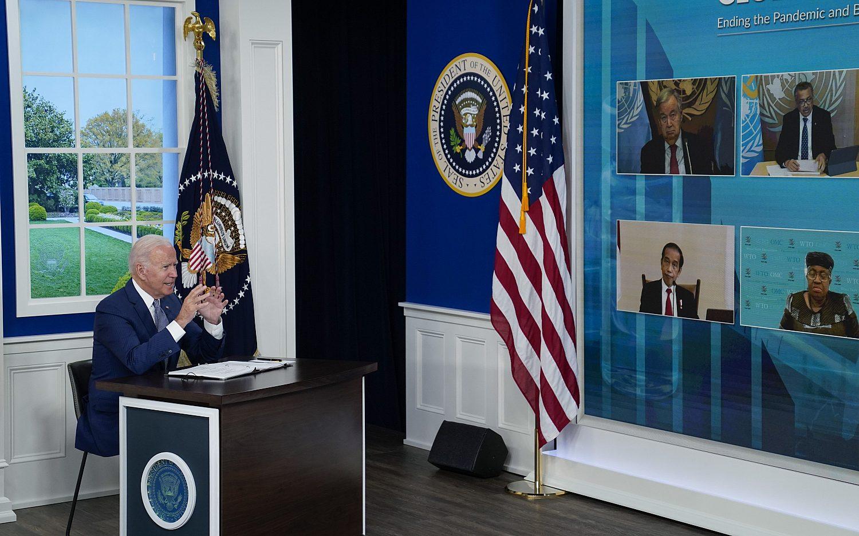 Biden promises to donate 1 billion COVID-19 vaccines