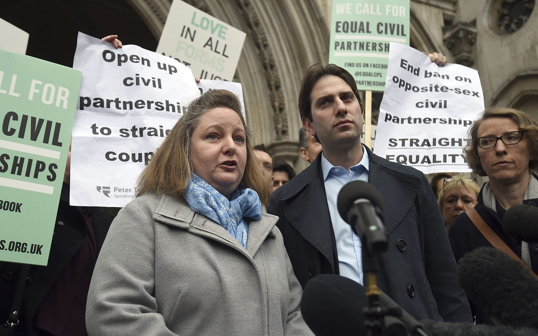 British court blocks hetero civil partnerships