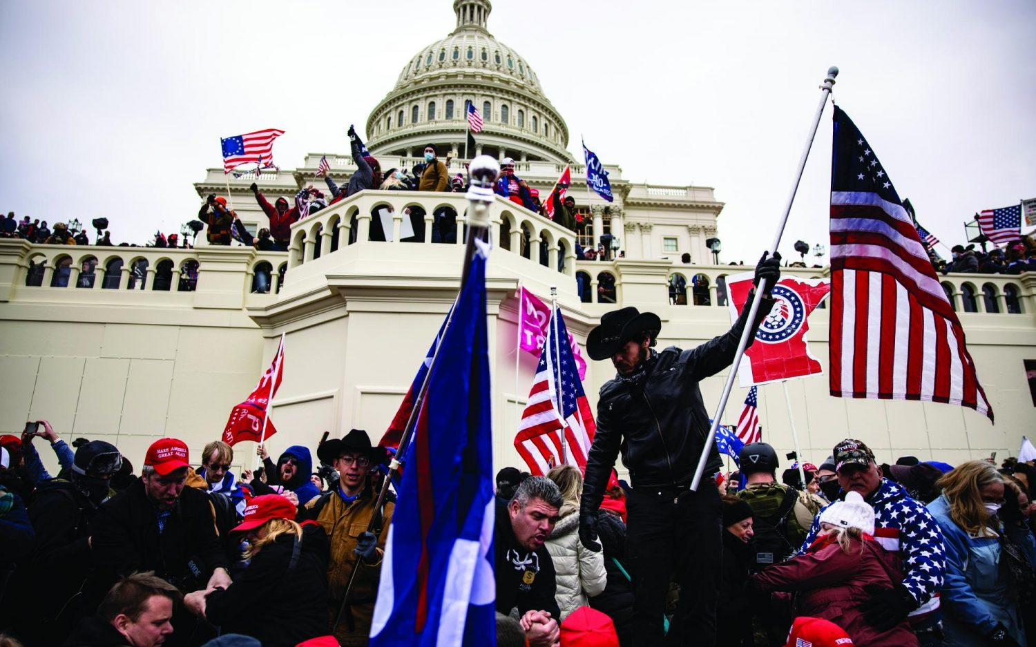 The day mobs overran the Capitol