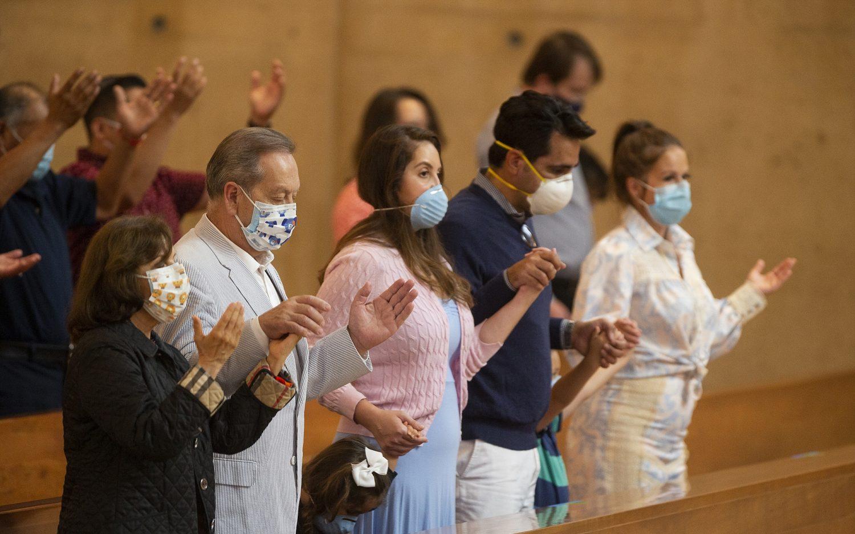 California bans singing in worship