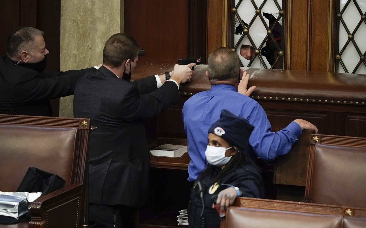 Reporter's notebook: Surviving the Capitol lockdown