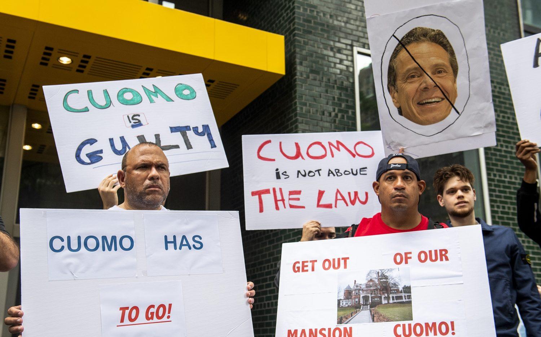 Democrats demand Cuomo's resignation