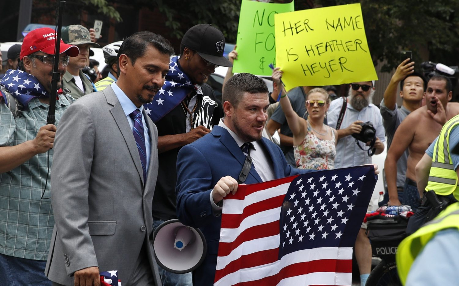 D.C. keeps peace during white supremacist march