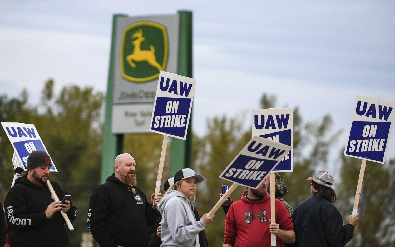 Worker strikes hit multiple industries