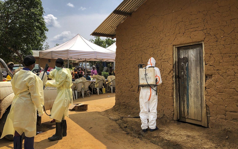 Ebola reaches Congo-Rwanda border
