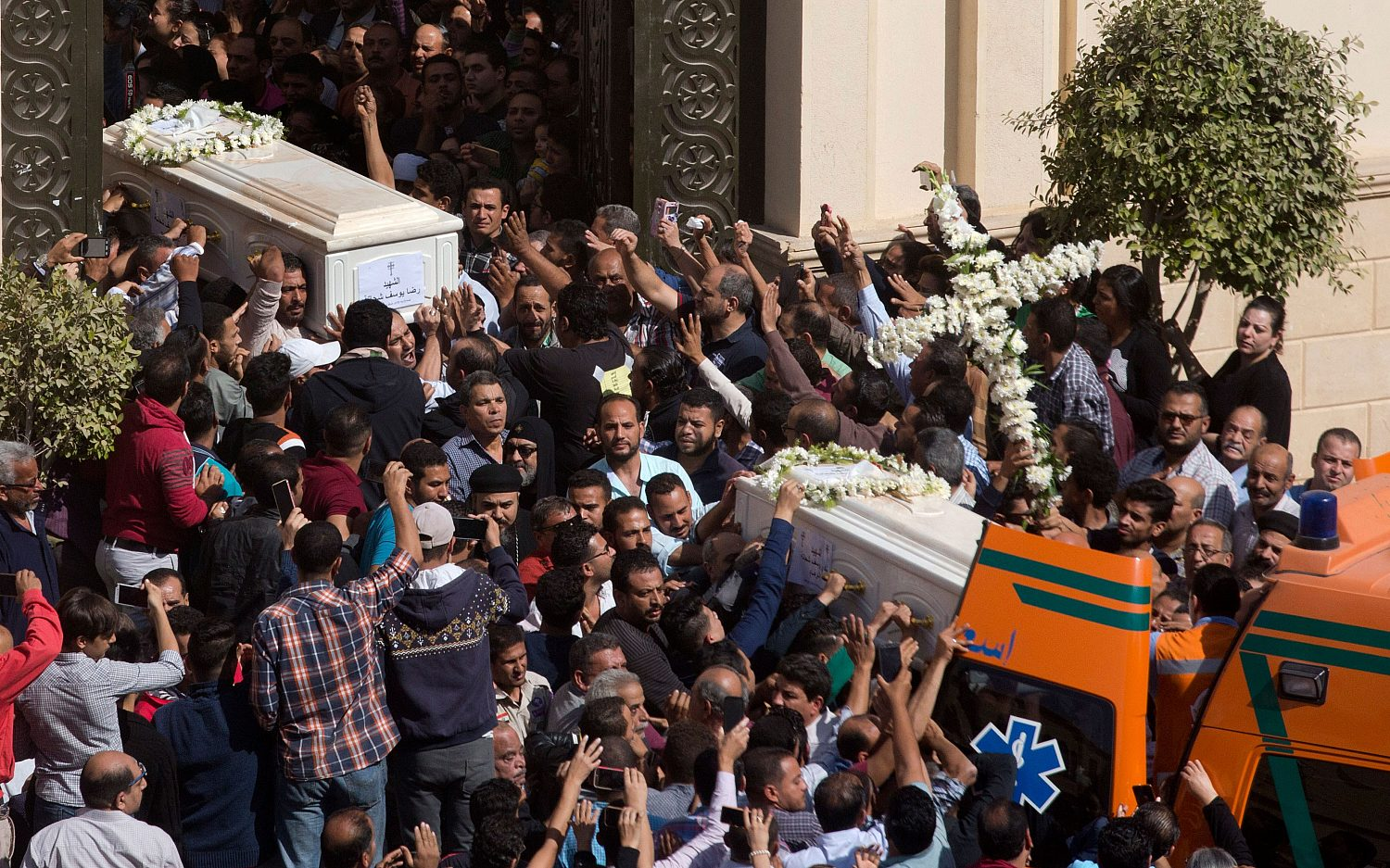 'The terrorists had their fun with the martyrs'
