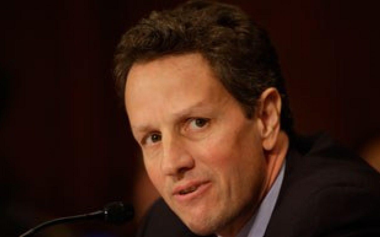Grilling Geithner