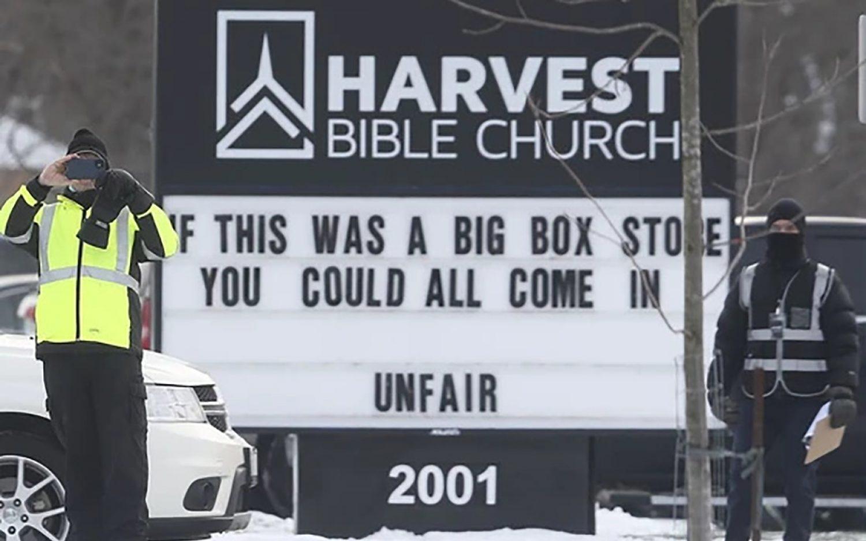 Citing COVID-19, Canada cracks down on churches