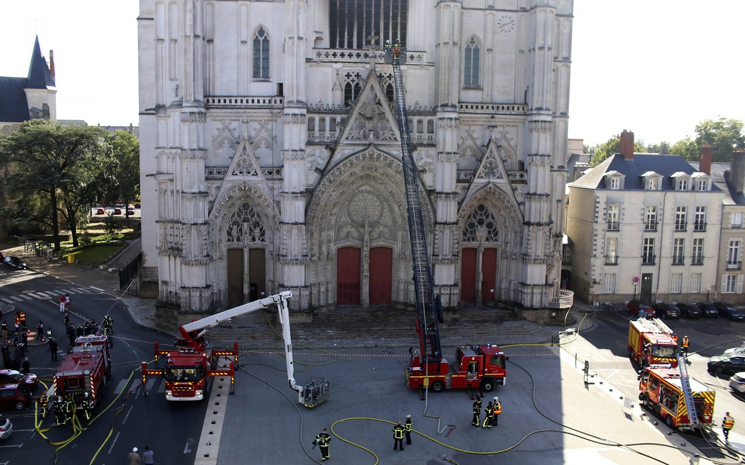 Questions loom over French cathedral fires