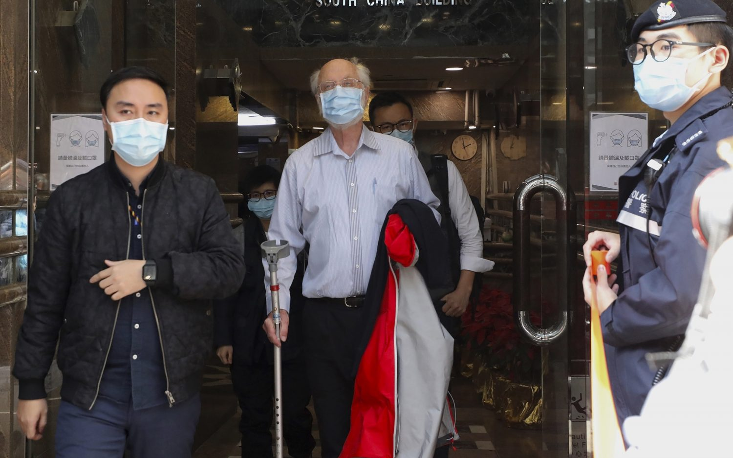 Activists rounded up in Hong Kong