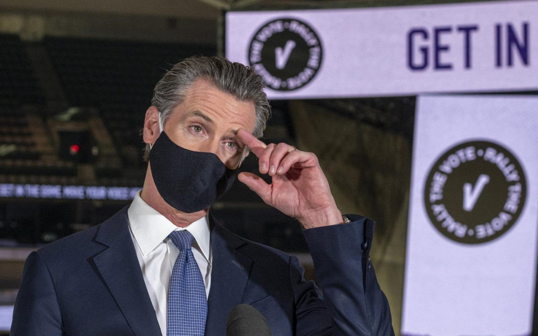 The campaign to recall Gavin Newsom