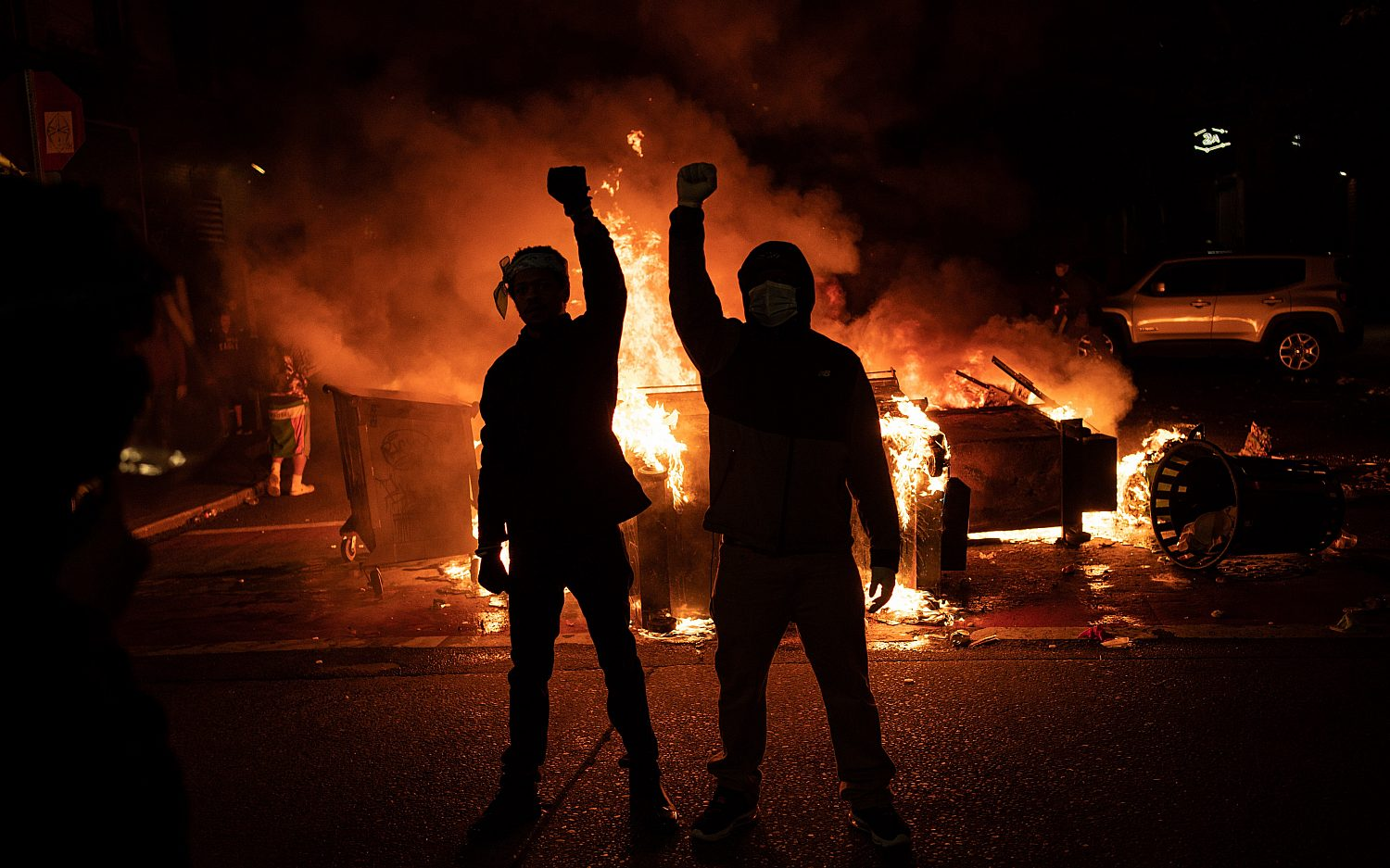 A year of riots
