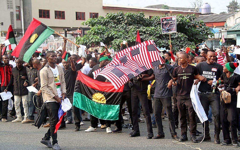 Nigerian separatists: 20 killed at pro-Trump rally