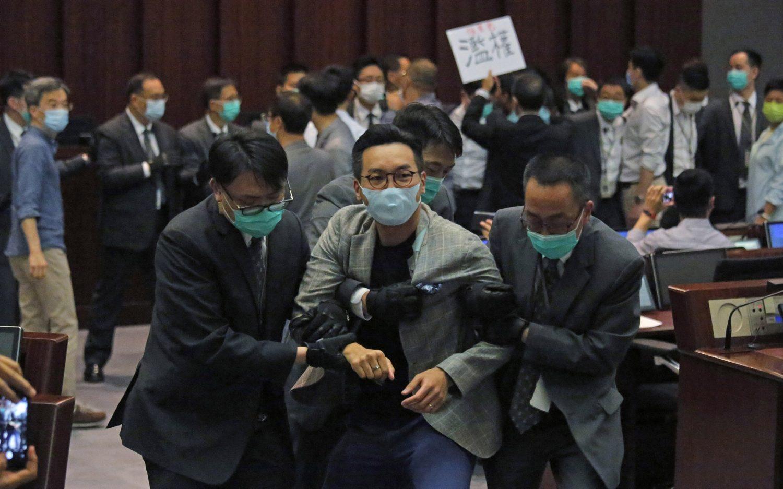 China to limit Hong Kong freedoms