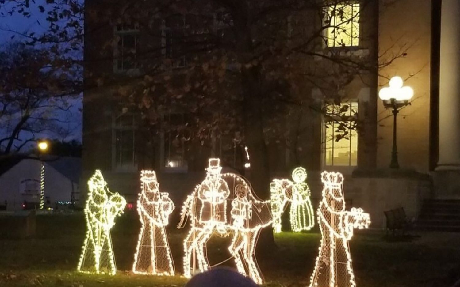 Christmas display survives another year