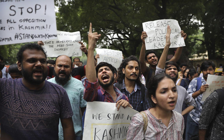 India downgrades Kashmir's autonomy