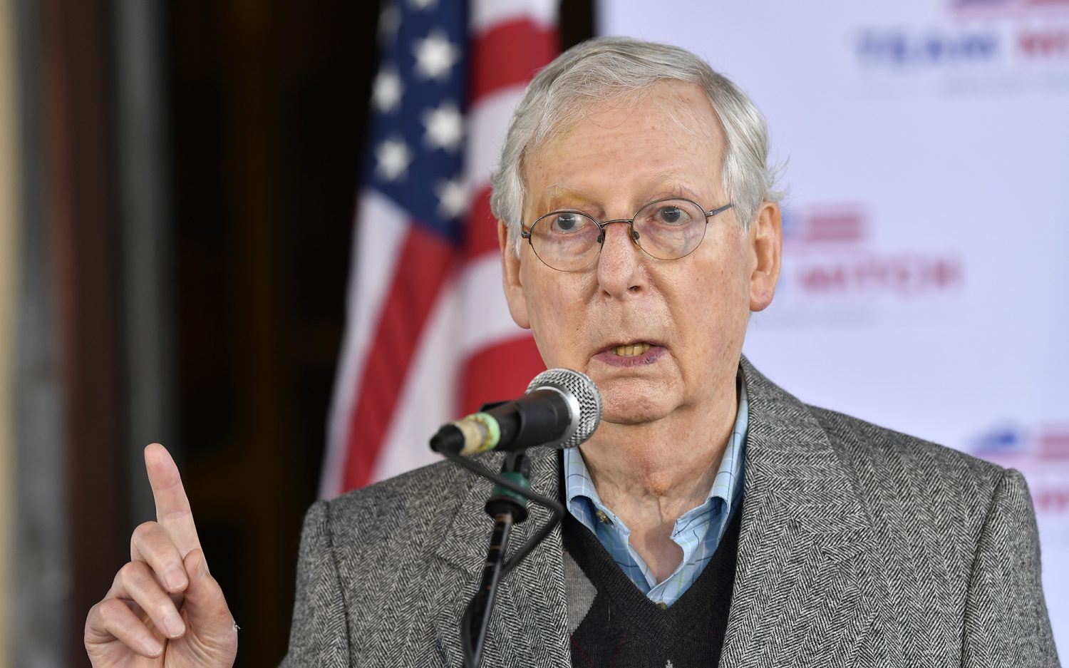 McConnell reelected; Senate control up for grabs