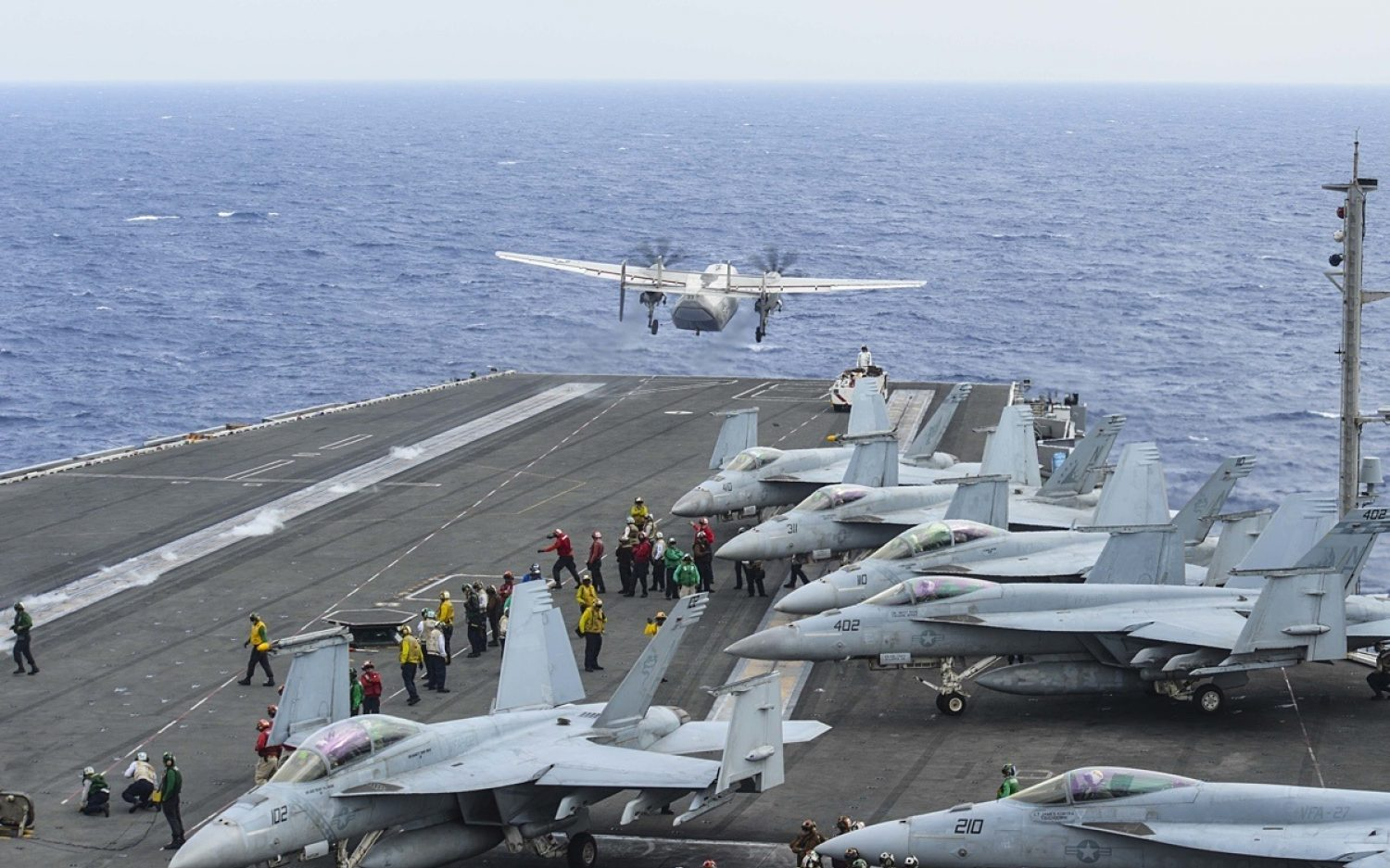 Navy calls off search for missing sailors