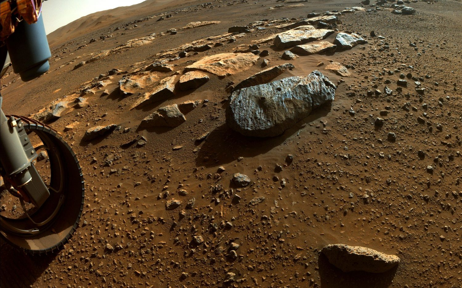 Drilling down on Mars