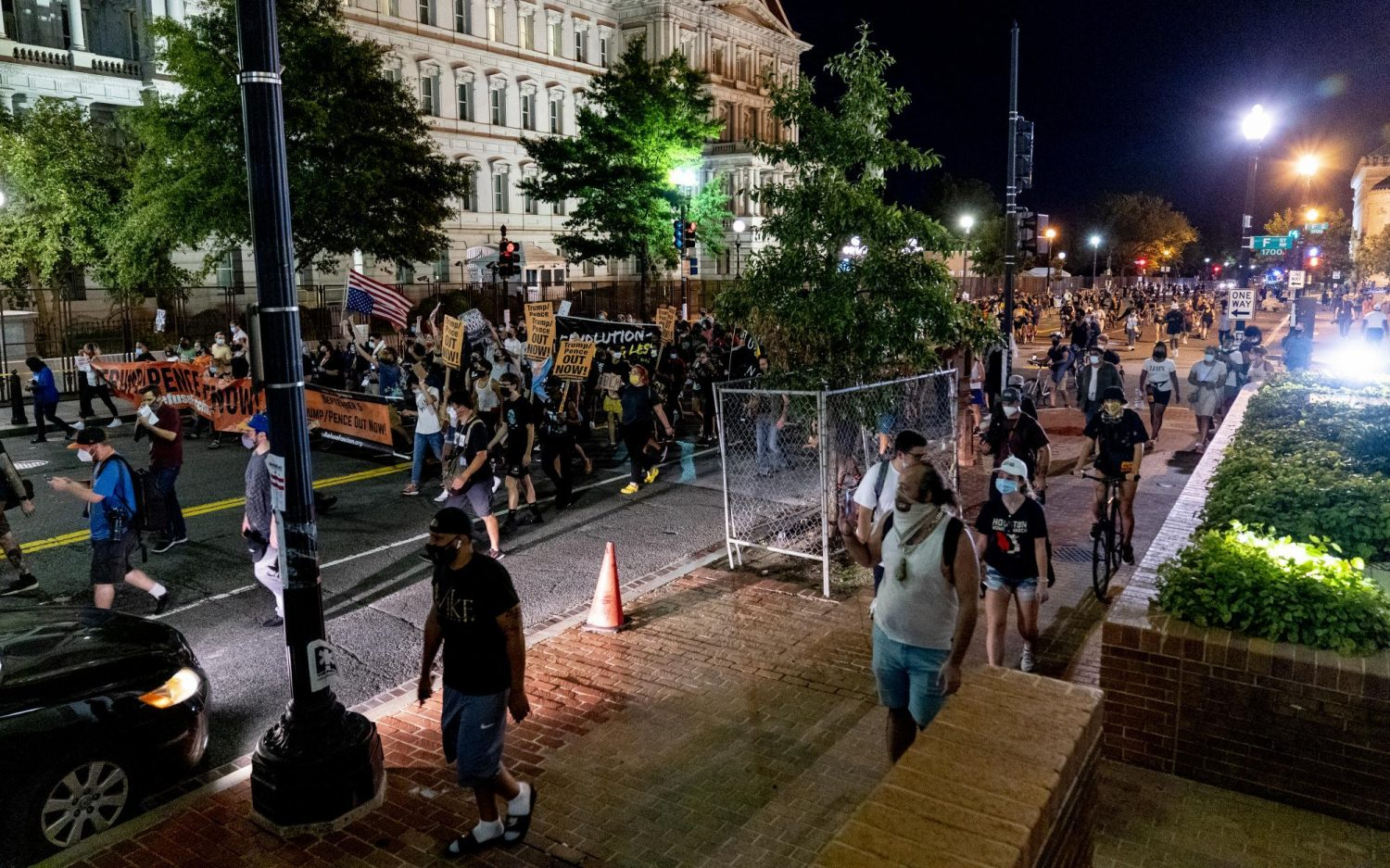 Protester disputes Metaxas account of RNC altercation