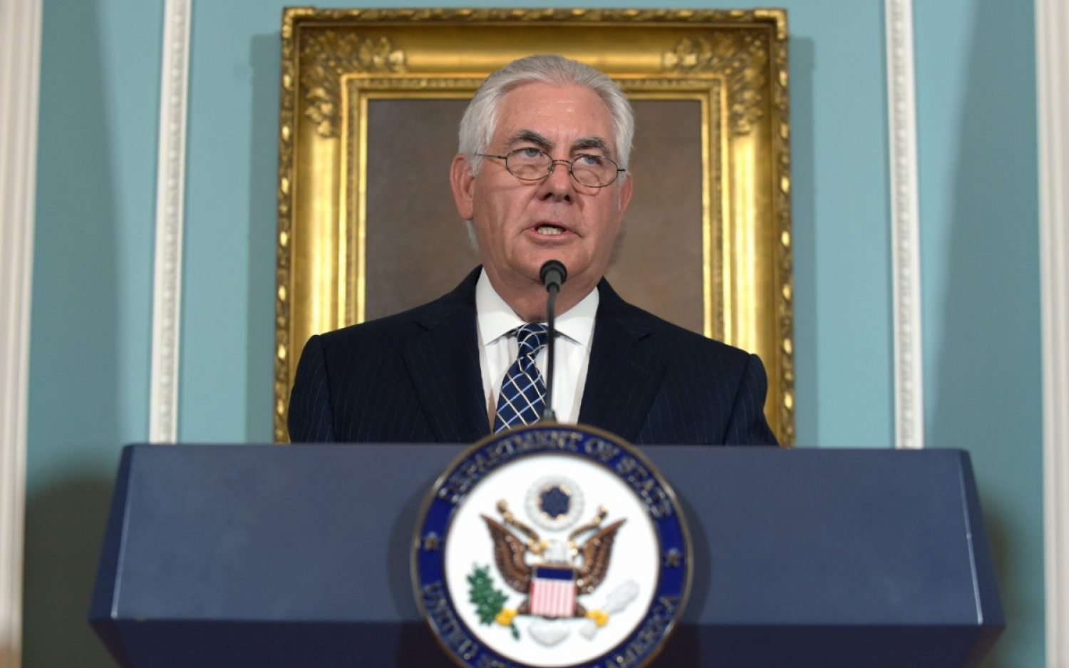 Tillerson decries ISIS genocide in religious freedom report