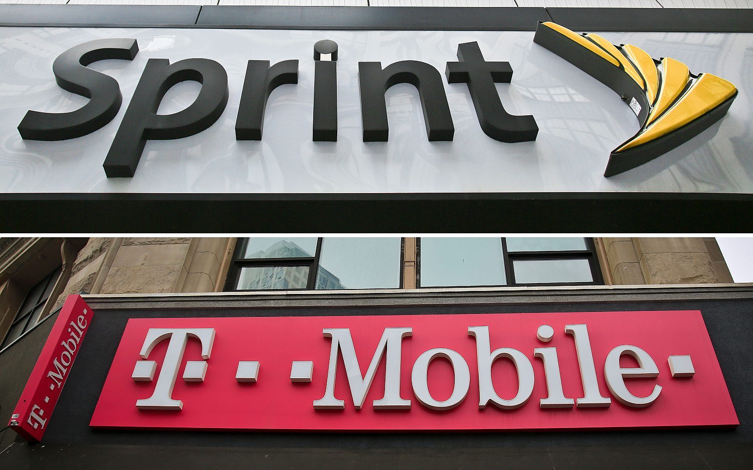 Cellphone companies to merge