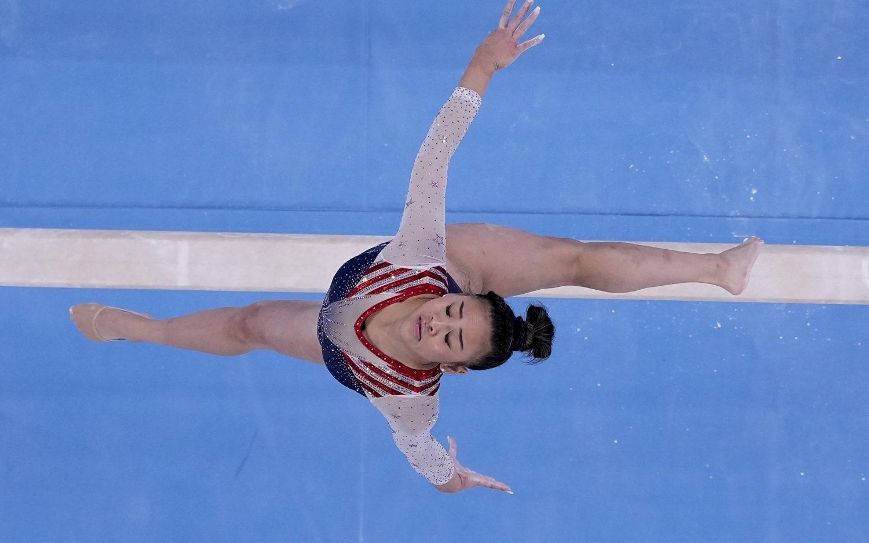 U.S. clinches victory in gymnastics