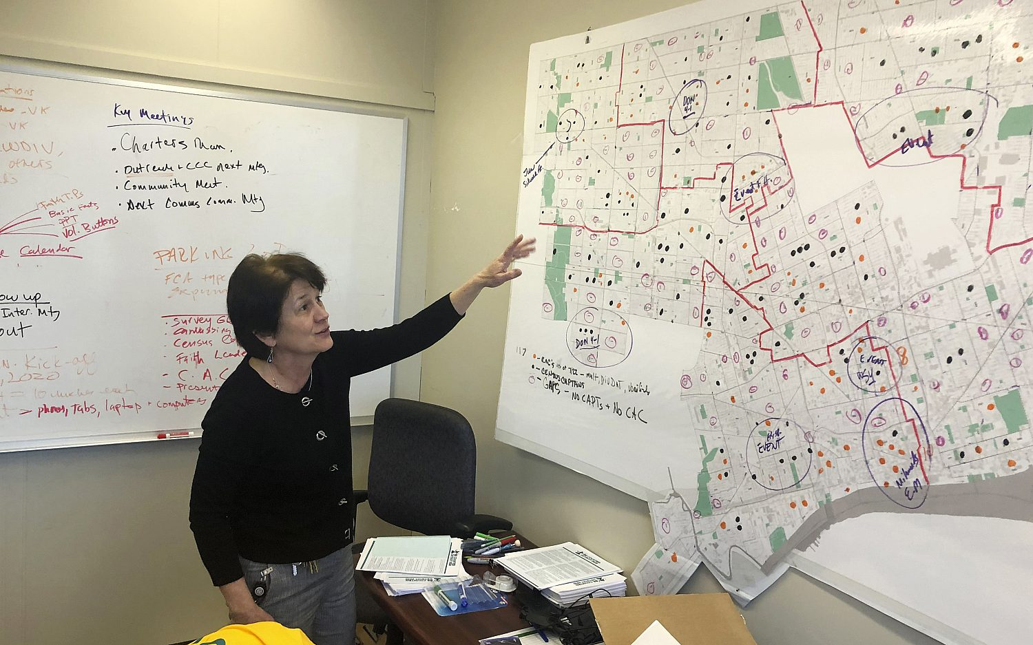 Redistricting could add red ink to congressional maps