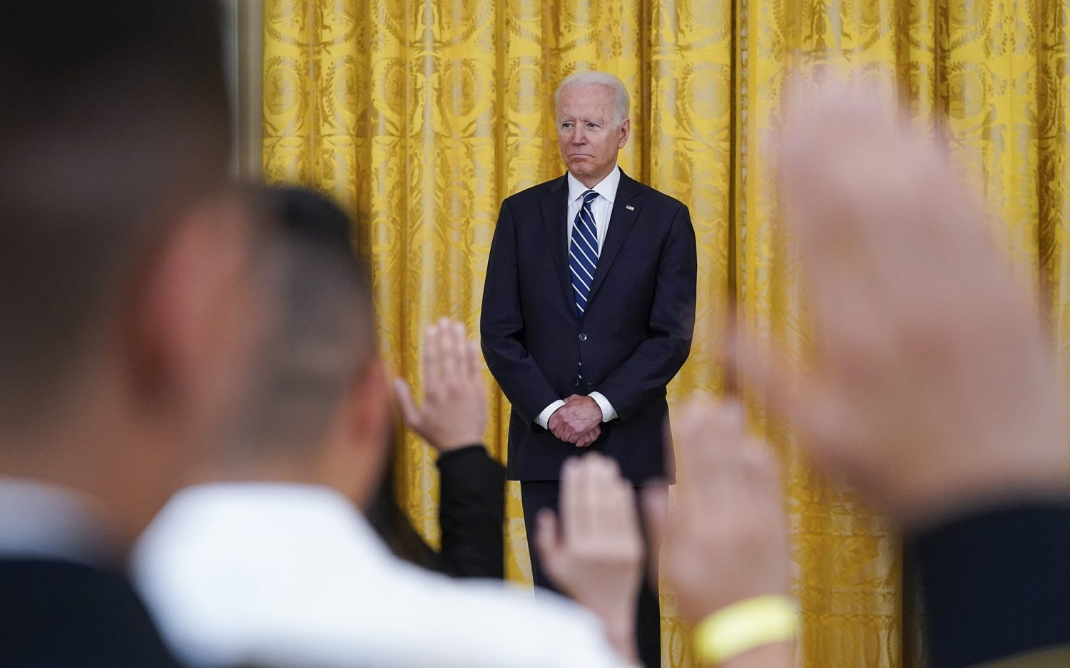 Biden to green card holders: Come join us