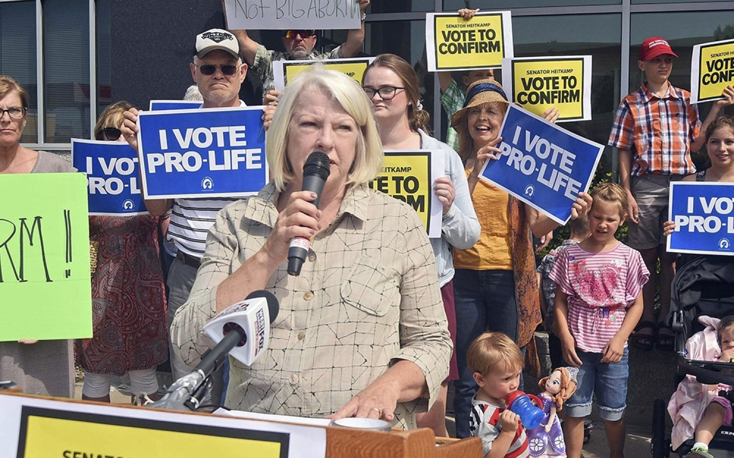 Pro-lifers give Kavanaugh a thumbs-up