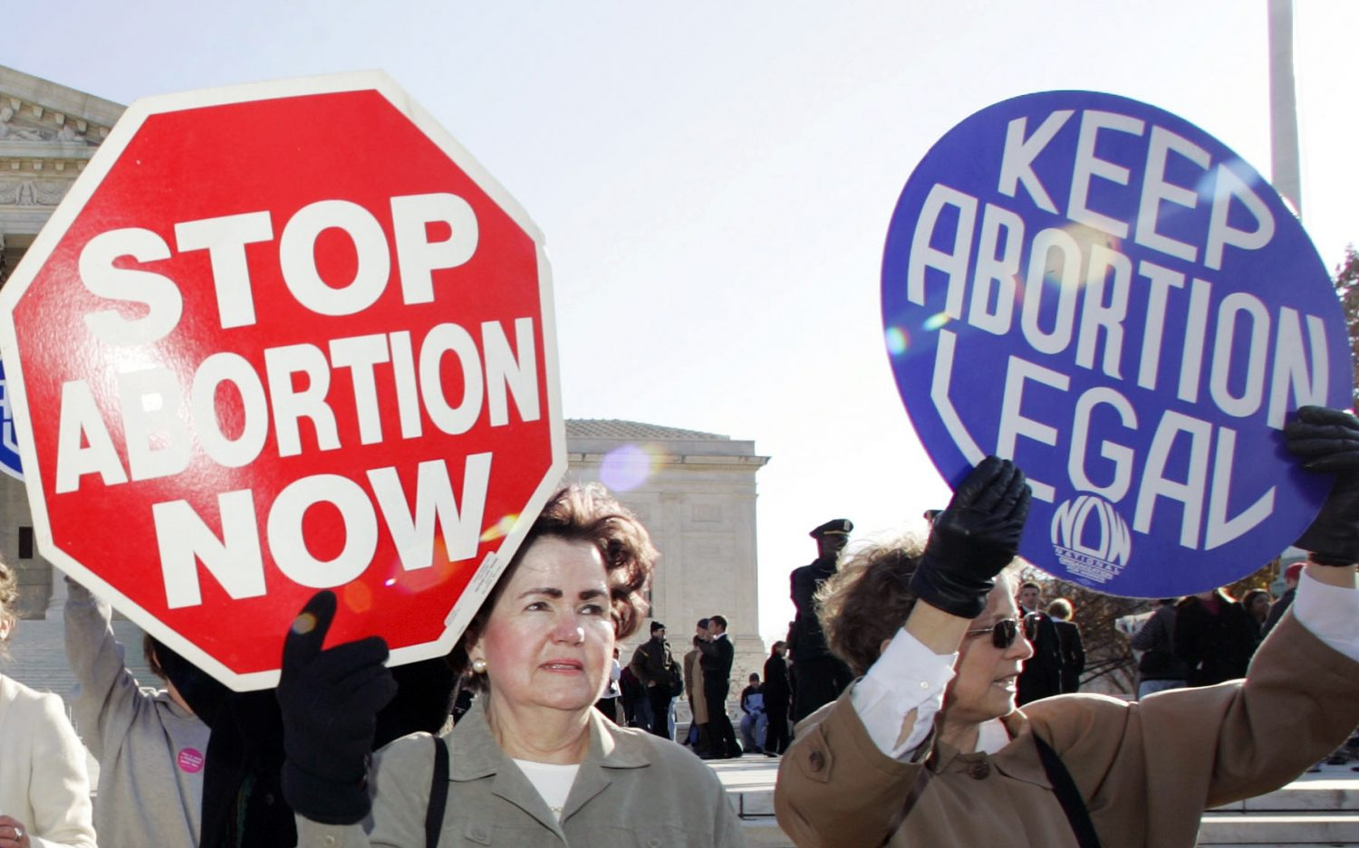 Pushing and polling on abortion