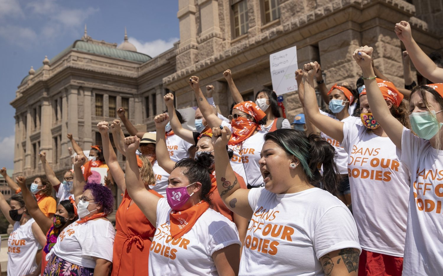Pro-lifers minister to panicked women in Texas