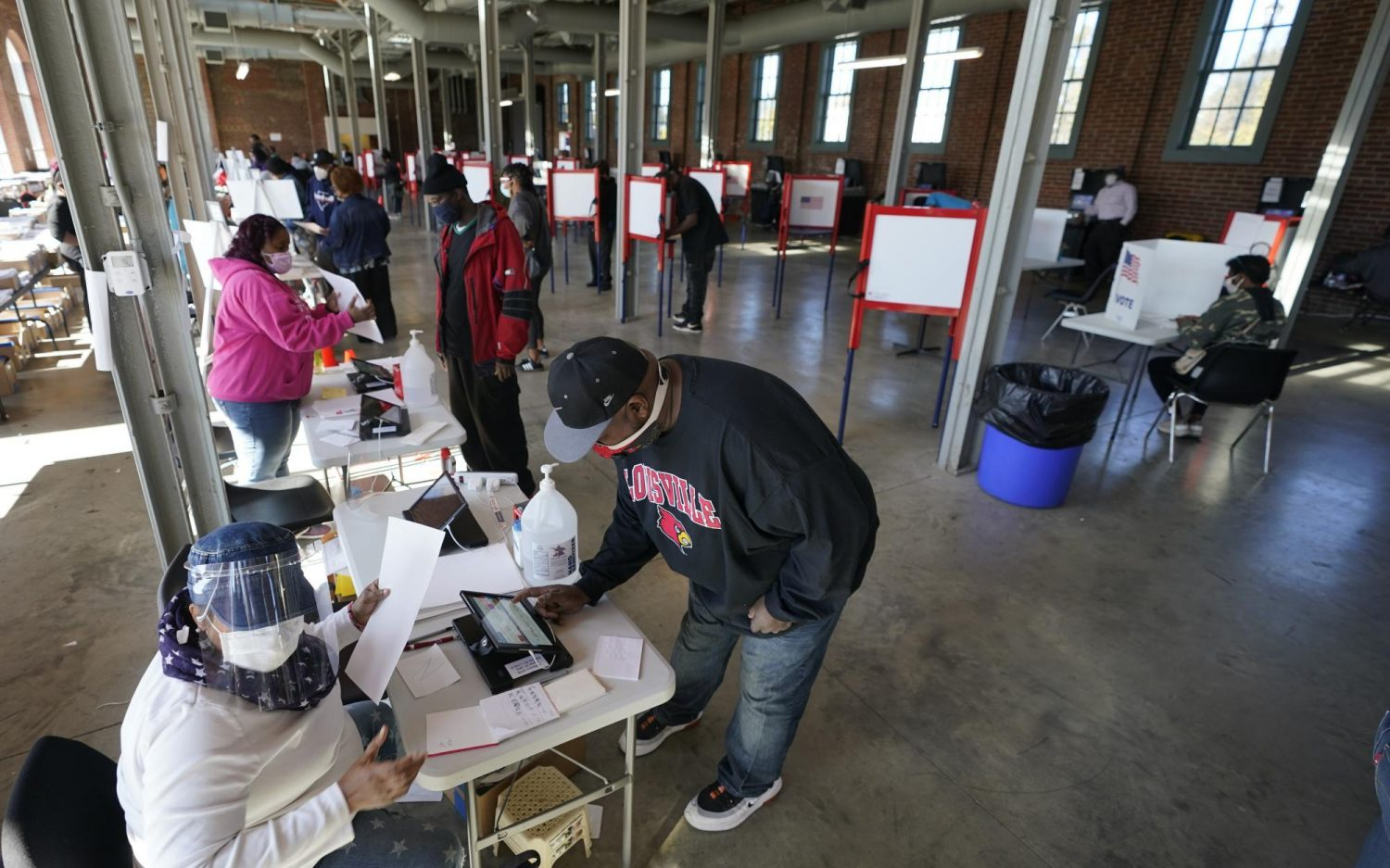 Election Day snapshots