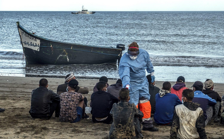 European migrant routes shift