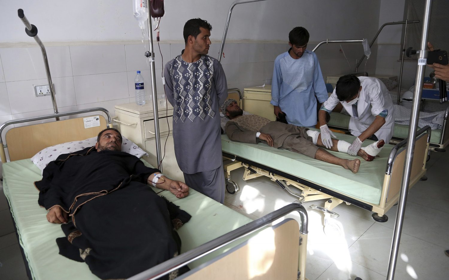 Afghans wary of more carnage