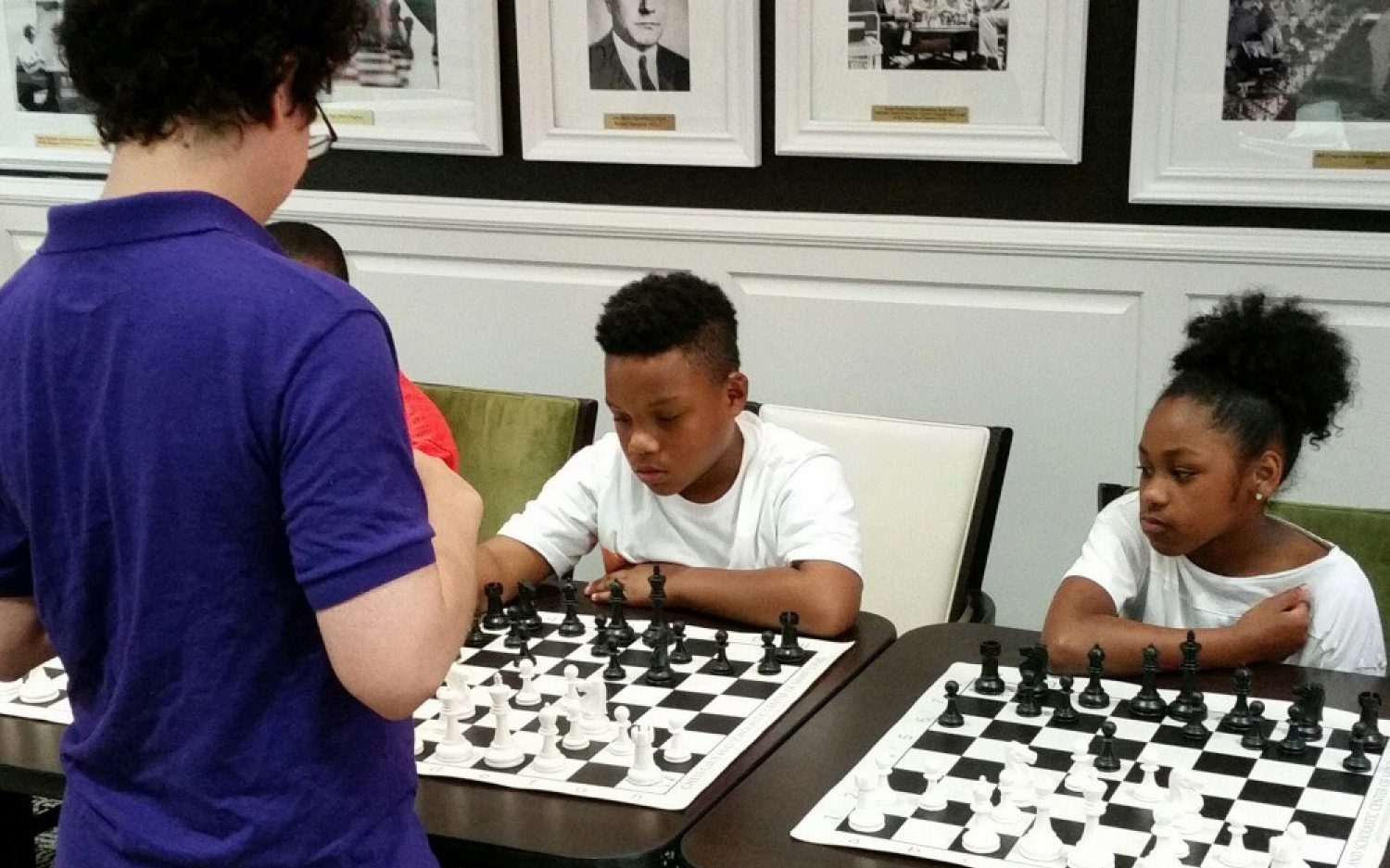 Chess helps Ferguson students cope with lingering trauma