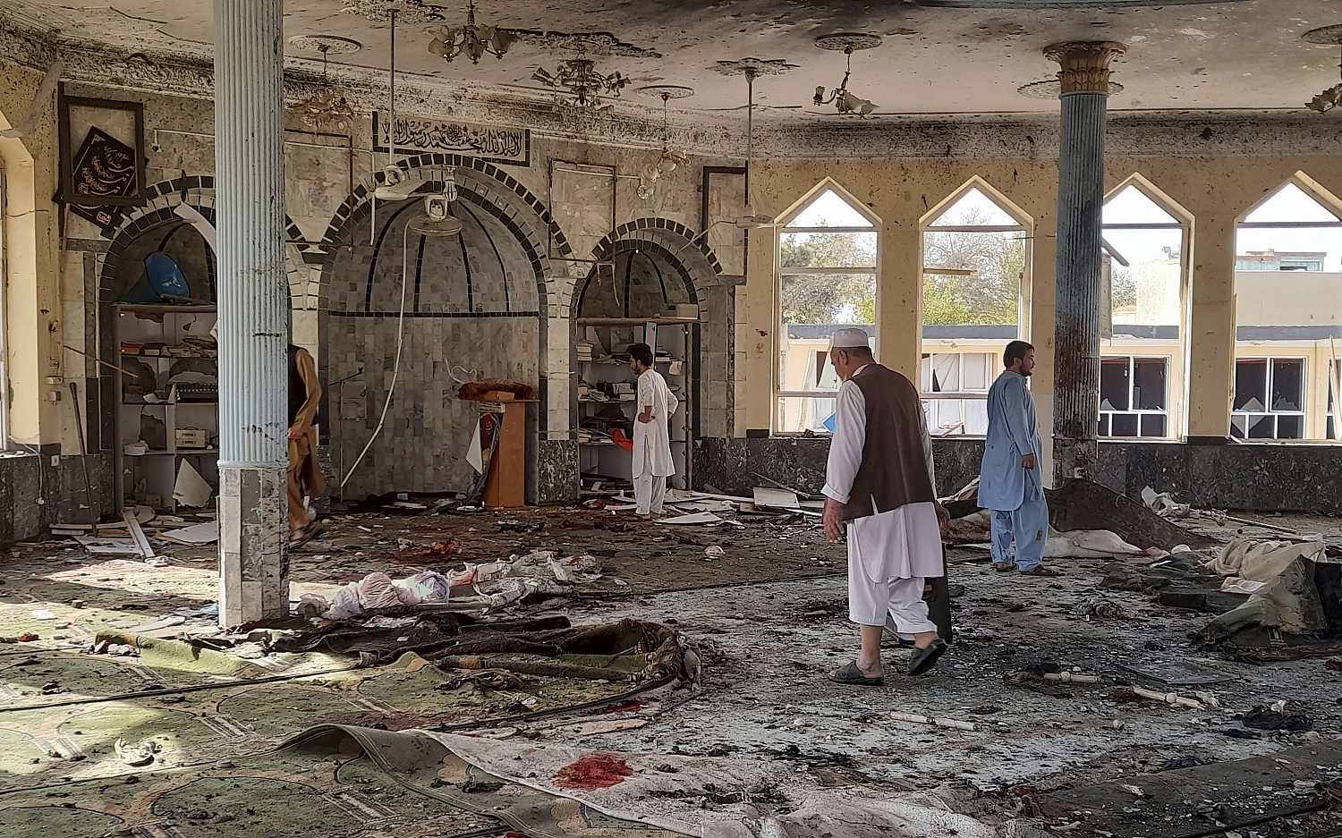 Islamic State claims responsibility for Afghan mosque bombing