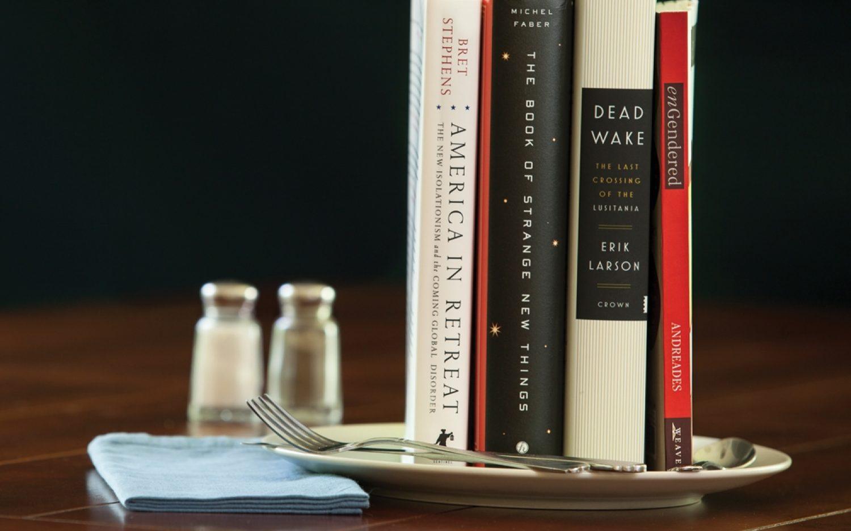 <em>Mmmm ...</em> four books of the year