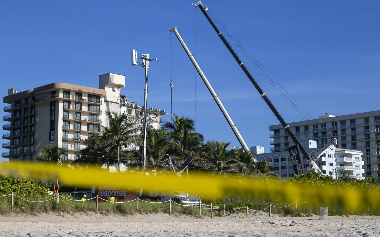 Crews to demolish rest of Florida condo building