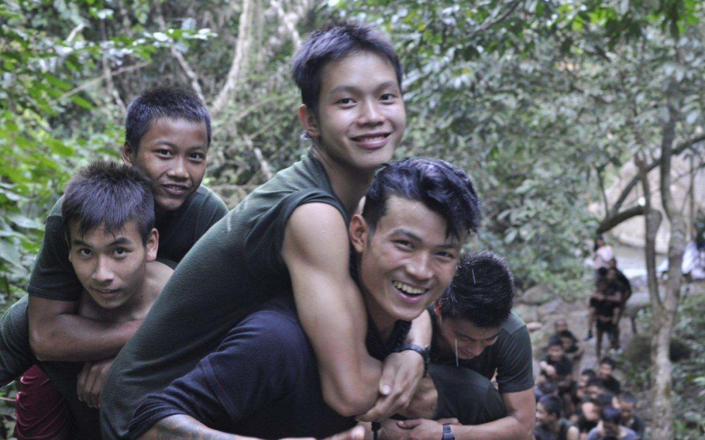 Jungle cowboys