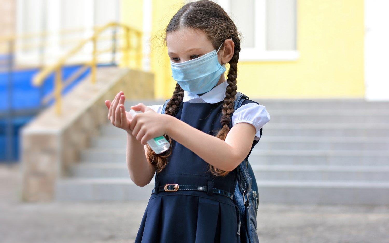 Catholic education, plus masks