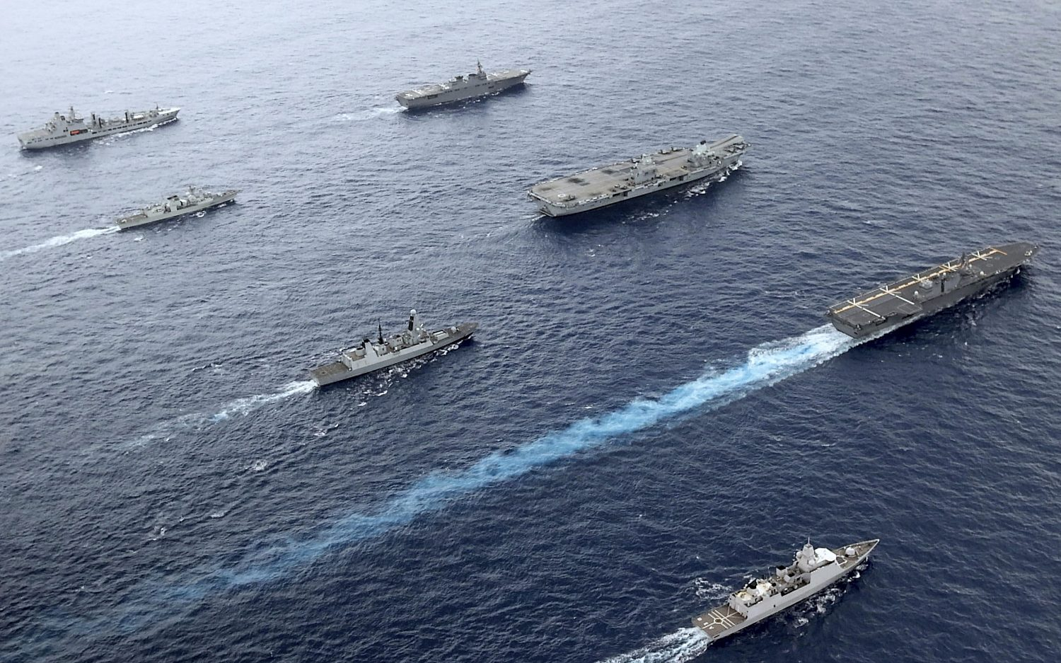 World powers make moves in Indo-Pacific region
