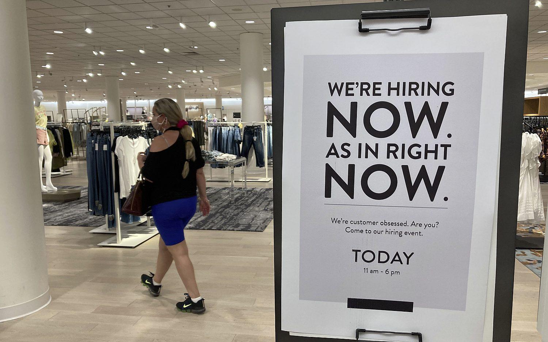 Delta variant slows job growth