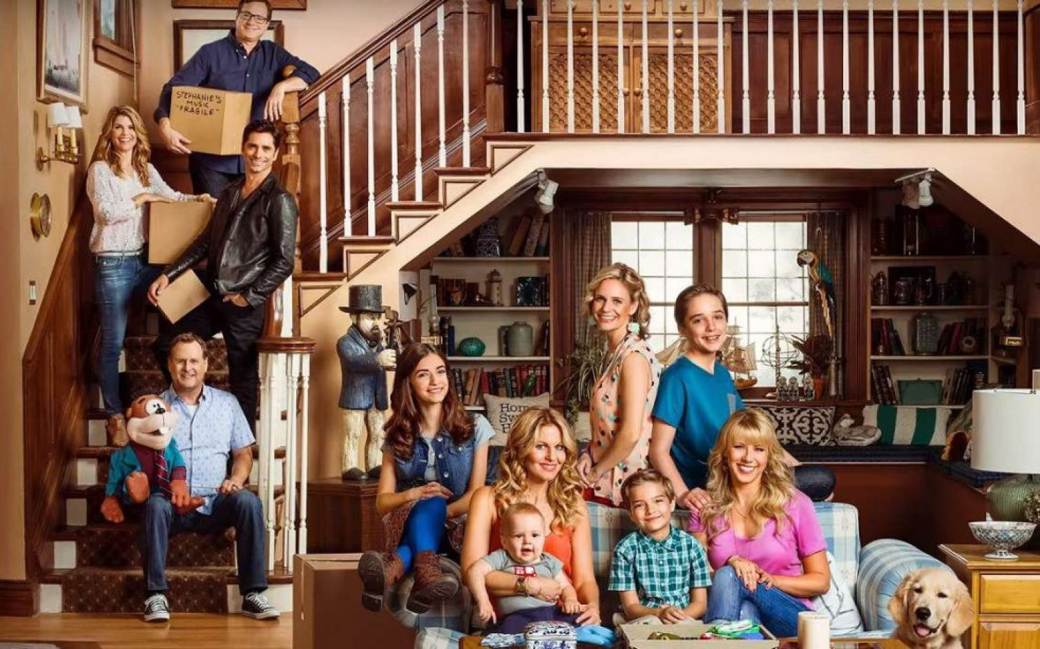 <em>Fuller House</em> offers never-ending nostalgia and little else