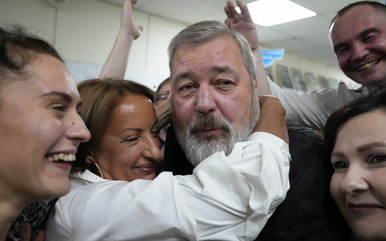 Journalists win 2021 Nobel Peace Prize
