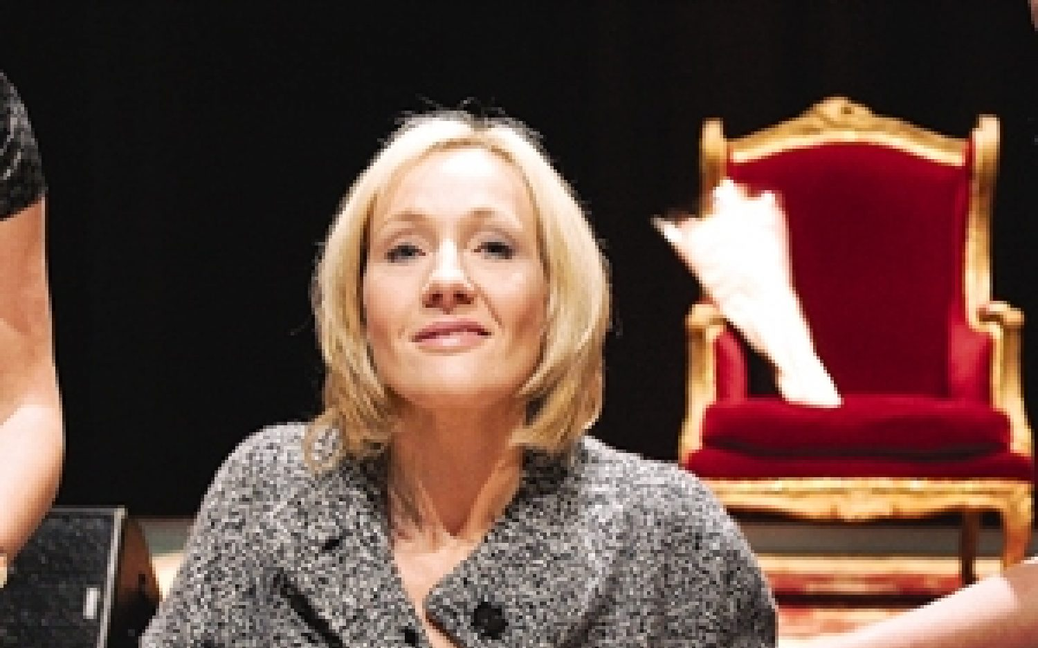 Rowling's outing