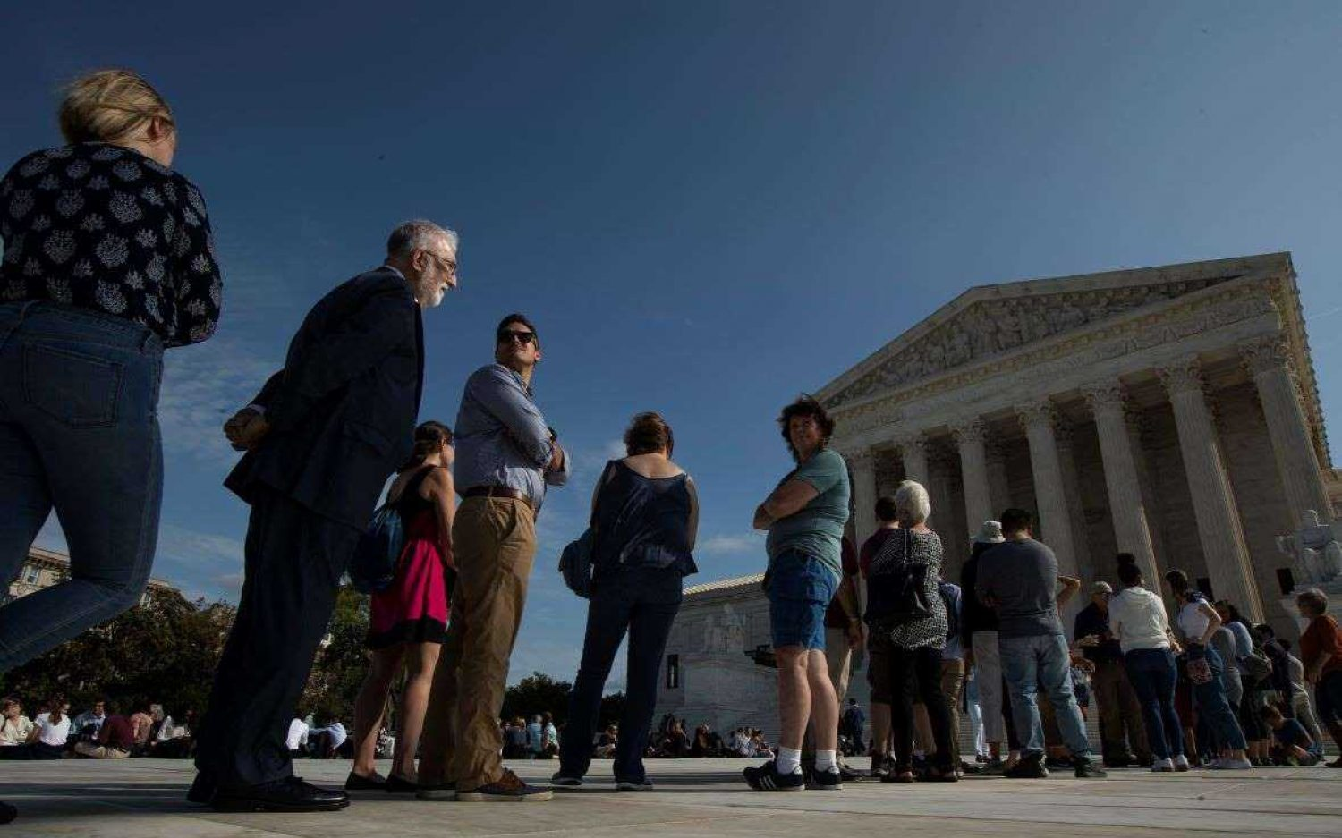 Supreme Court hears LGBT worker cases